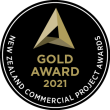 2021 Commercial Project Awards - Gold Certificate