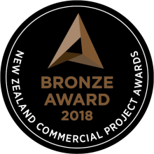 2018 - New Zealand Commercial Project Award - Bronze