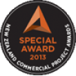 NZ Commercial Projects Awards - Special Award Certificate