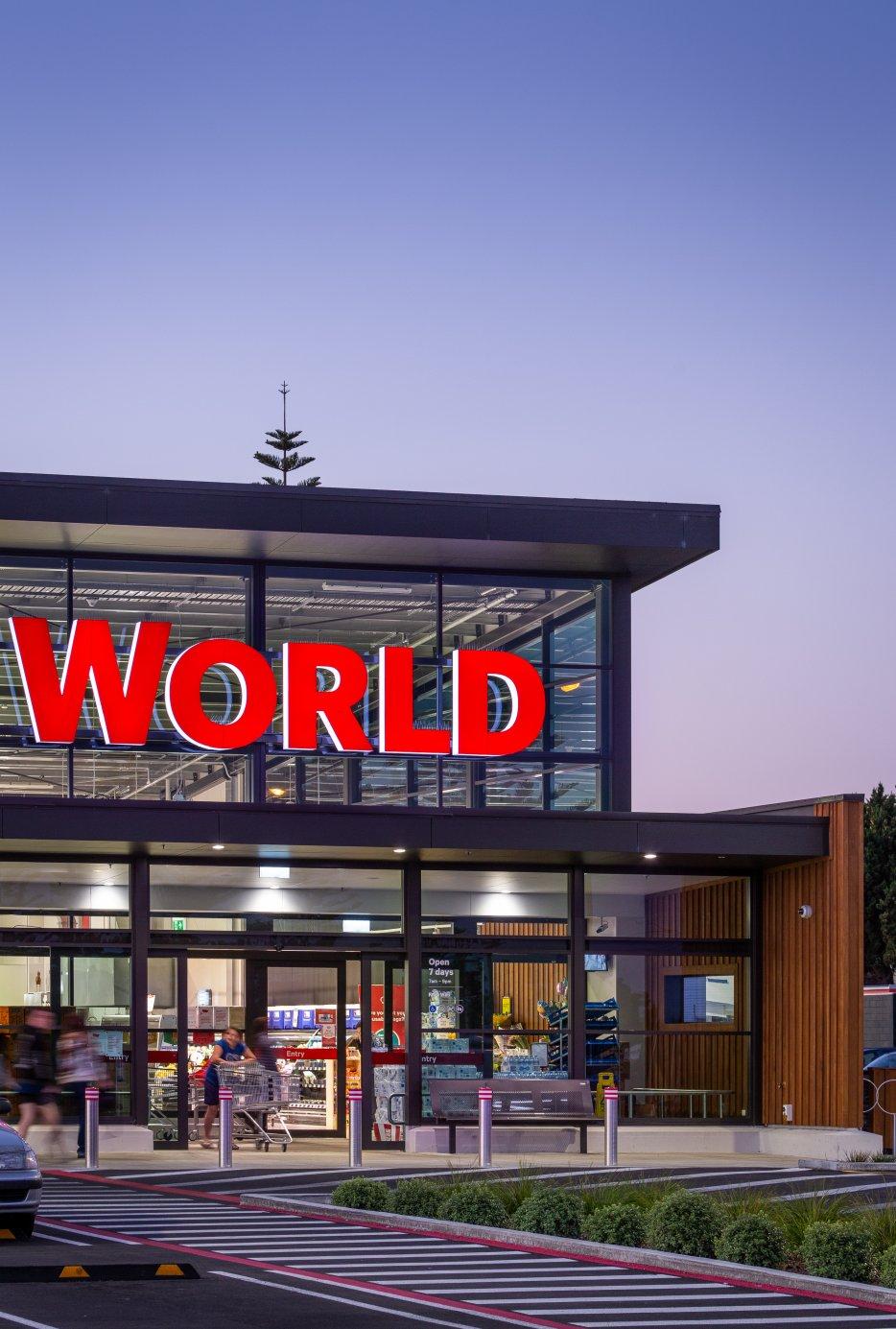 Portfolio New World Feilding New Store Development